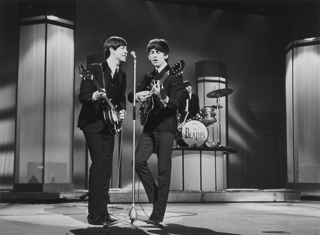 The Beatles George Harrison and Paul McCartney