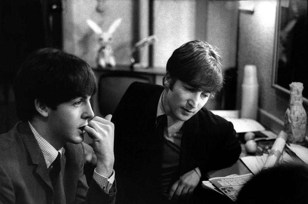 The Beatles Paul McCartney and John Lennon
