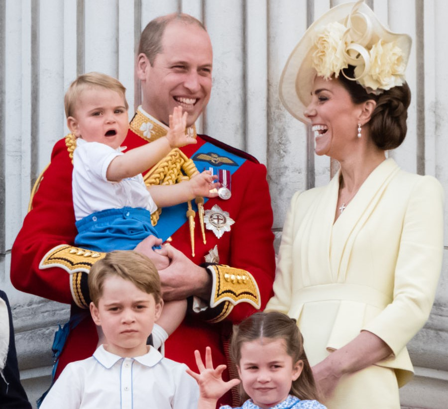 How Prince William and Kate Middleton's Children Helped ...
