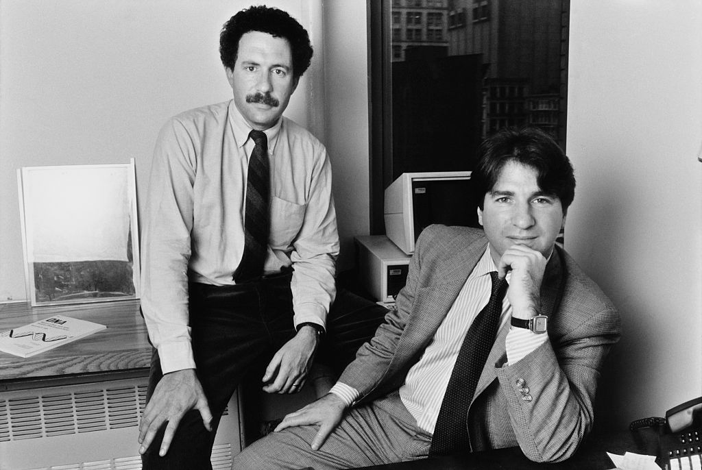 Innocence Project founders Peter Neufeld and Barry Scheck