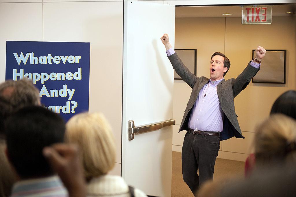 Ed Helms as Andy Bernard on 'The Office'