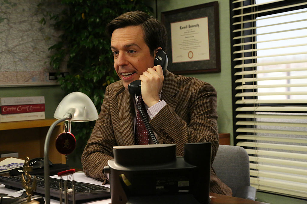 Ed Helms as Andy Bernard on 'The Office'
