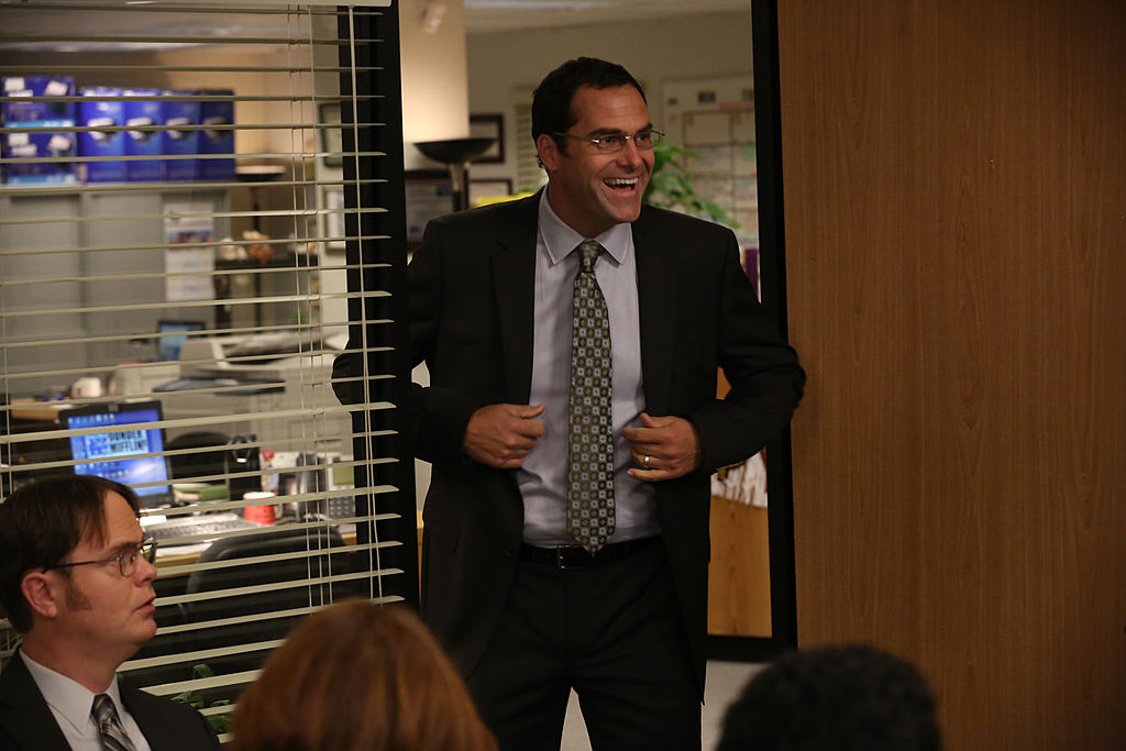 Andy Buckley as David Wallace on 'The Office'