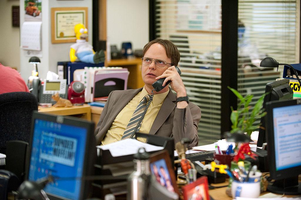 Rainn Wilson as Dwight Schrute on 'The Office'
