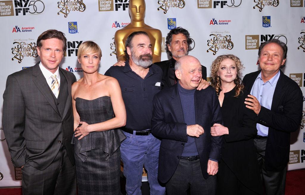 Cary Elwes, Robin Wright, Rob Reiner, Chris Sarandon, Wallace Shawn, Carol Kane, and Billy Crystal of 'The Princess Bride'
