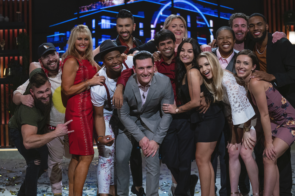 All the contestants that were on'The Circle' at the finale.