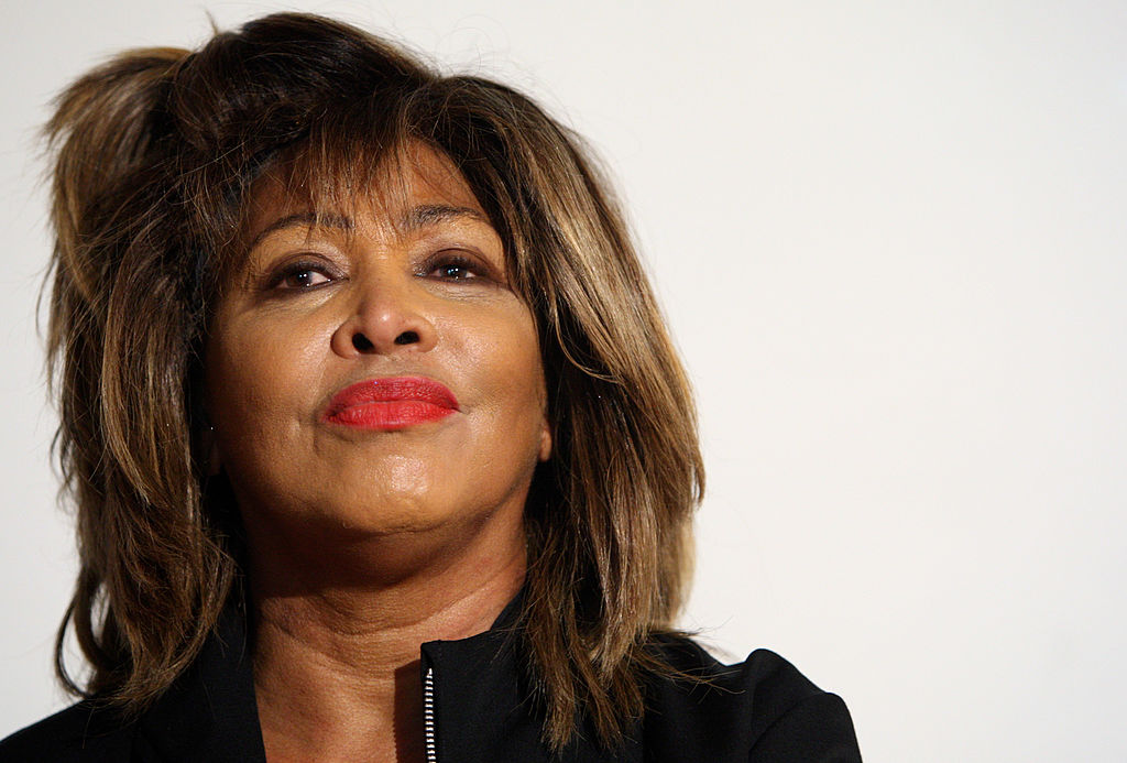 Tina Turner at an event in May 2009