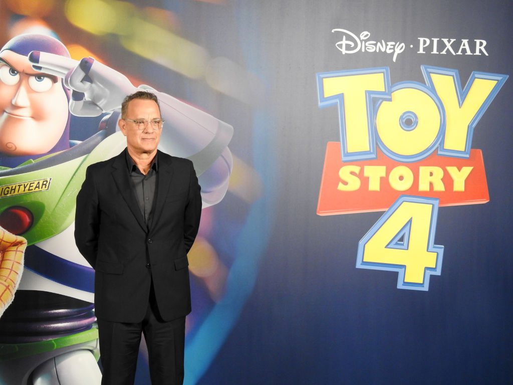 Tom Hanks attends 'Toy Story 4' photocall