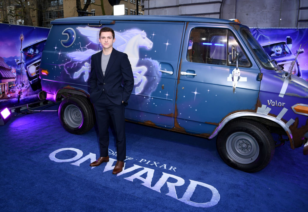 "Tom Holland attends the UK Premiere Of Disney And Pixar's ""Onward"""
