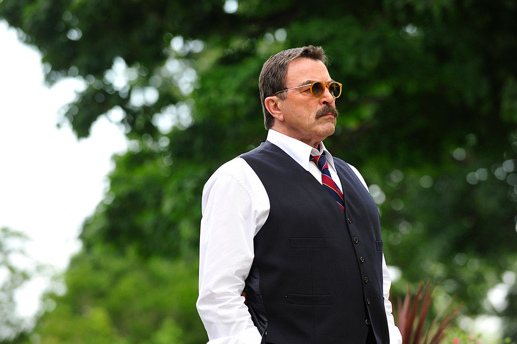 Tom Selleck | John Paul Filo / CBS via Getty Images