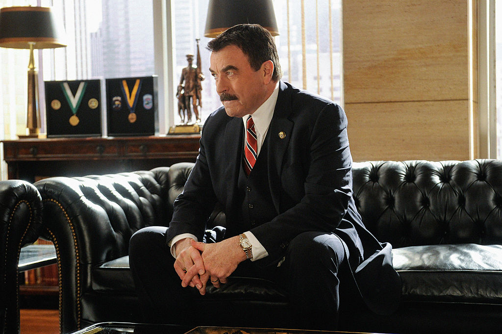 Tom Selleck as Frank Reagan on Blue Bloods   Jeffrey Neira/CBS via Getty Images