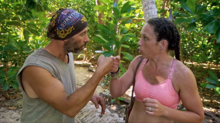 Tony Vlachos and Sarah Lacina