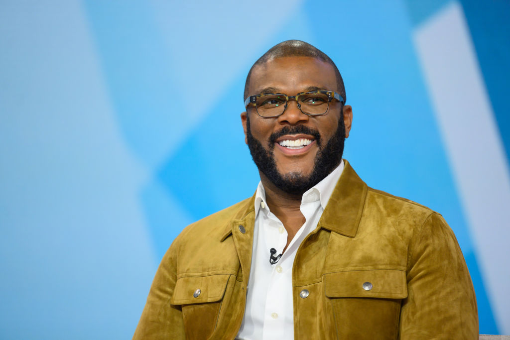 Tyler Perry at an event in January 2020