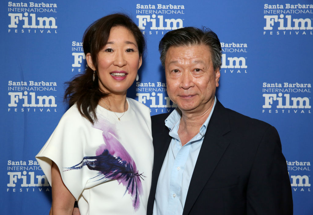 Sandra Oh and Tzi Ma