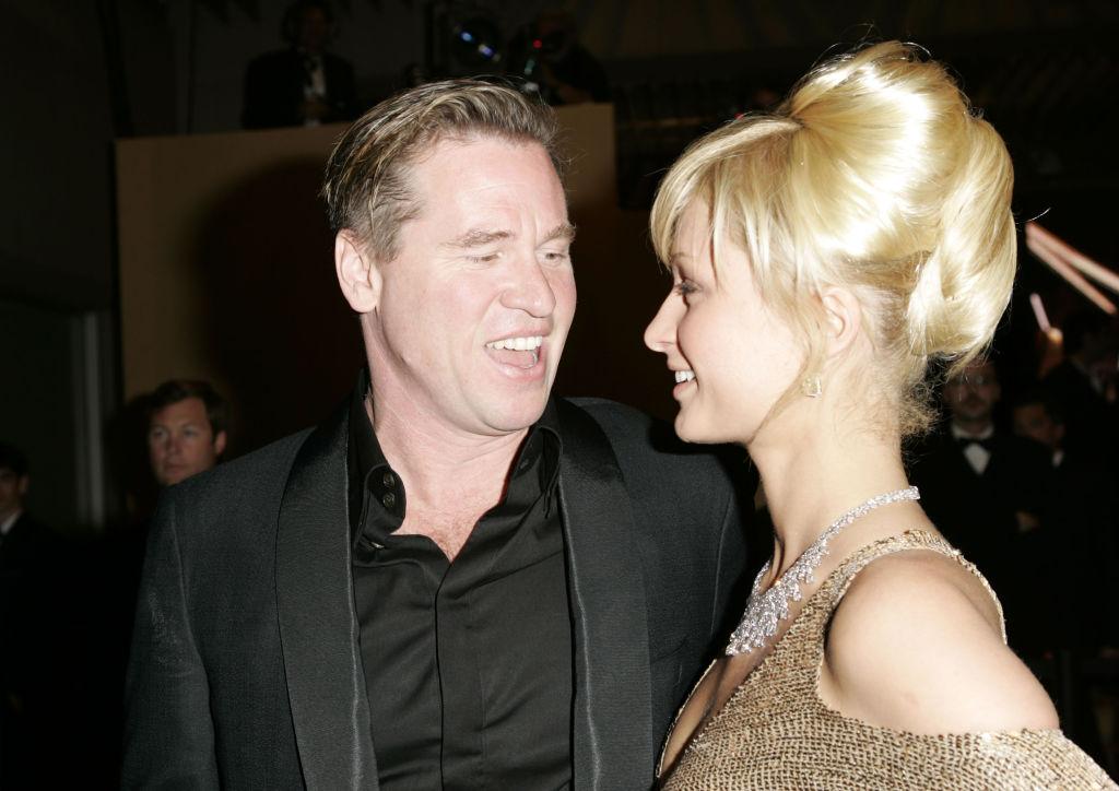 Val Kilmer and Paris Hilton