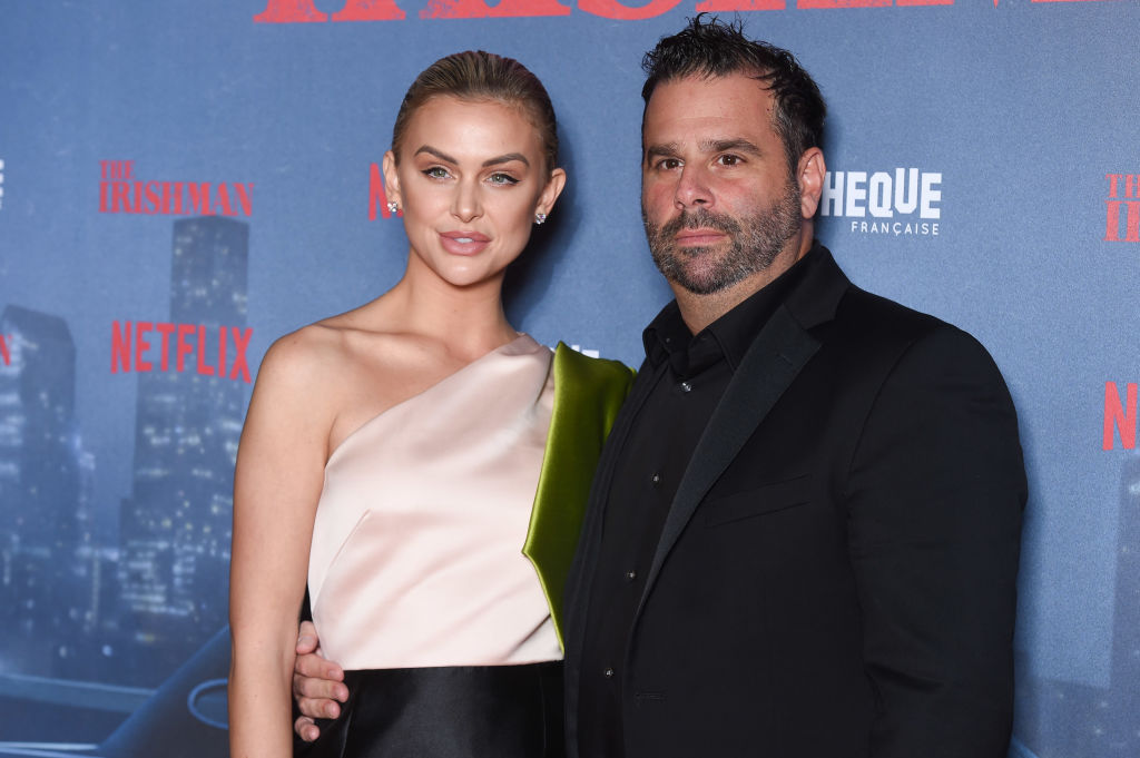 "Lala Kent and Randall Emmett attend the ""The Irishman"" premiere"