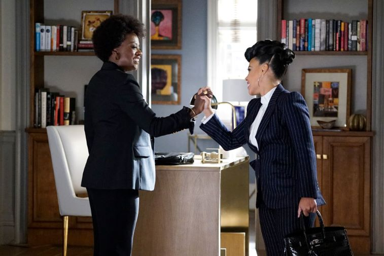 Viola Davis and Amirah Vann