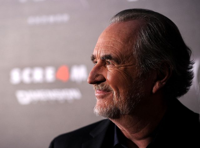 Wes Craven at the 'Scream 4' premiere