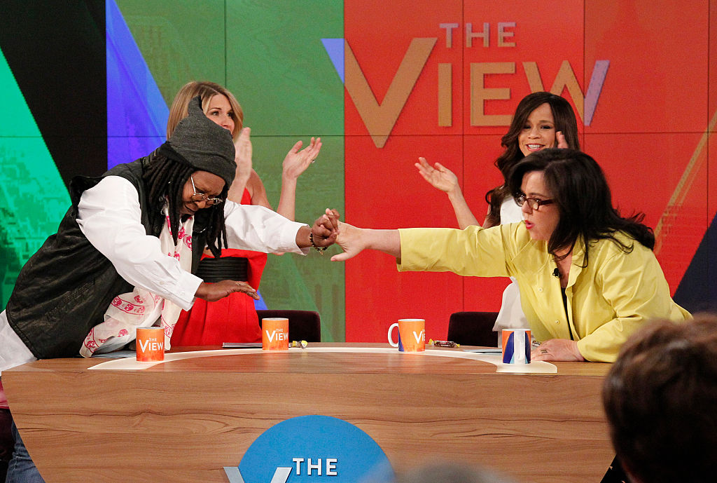Whoopi Goldberg and Rosie O' Donnell