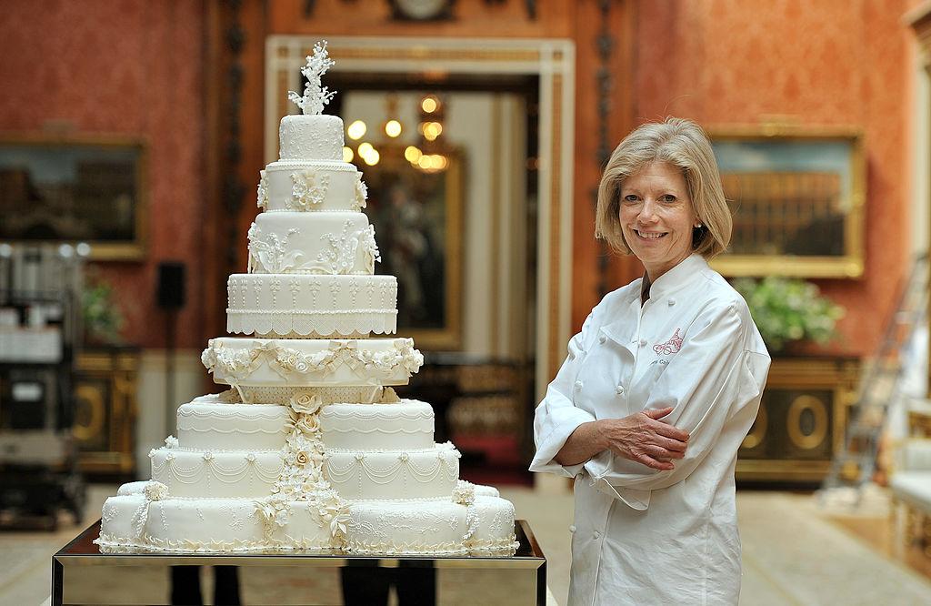 William and Kate's wedding cake