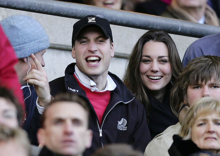Prince William and Kate Middleton in 2007