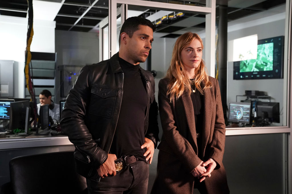 Wilmer Valderrama and Emily Wickersham on NCIS |  Monty Brinton/CBS via Getty Images