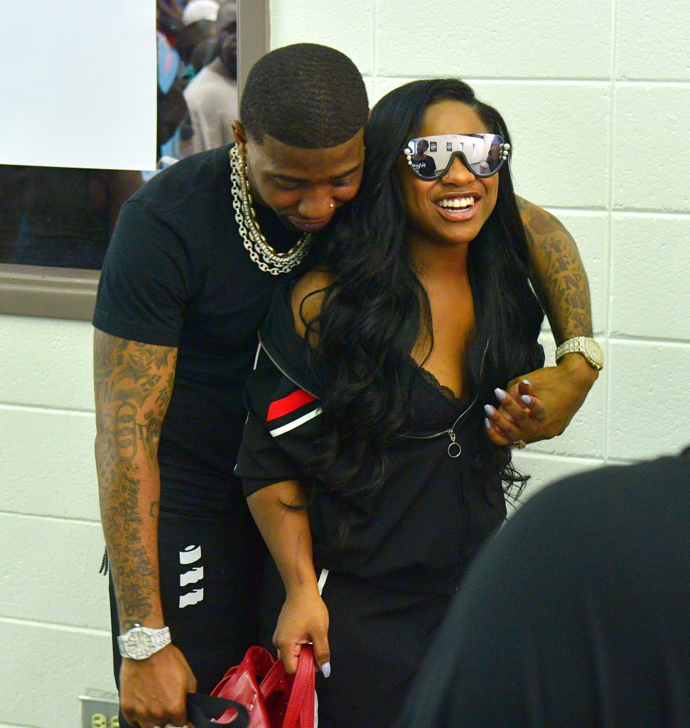 YFN Lucci and Reginae Carter in 2018