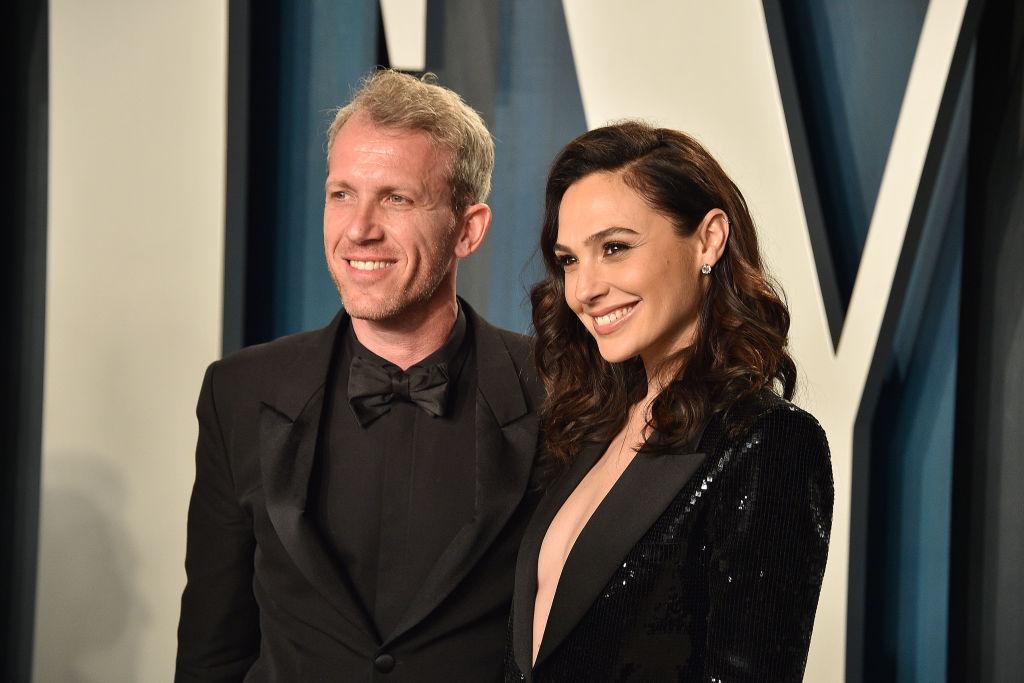 Yaron Varsano and Gal Gadot smiling
