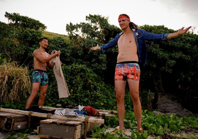 Yul Kwon and Tyson Apostol