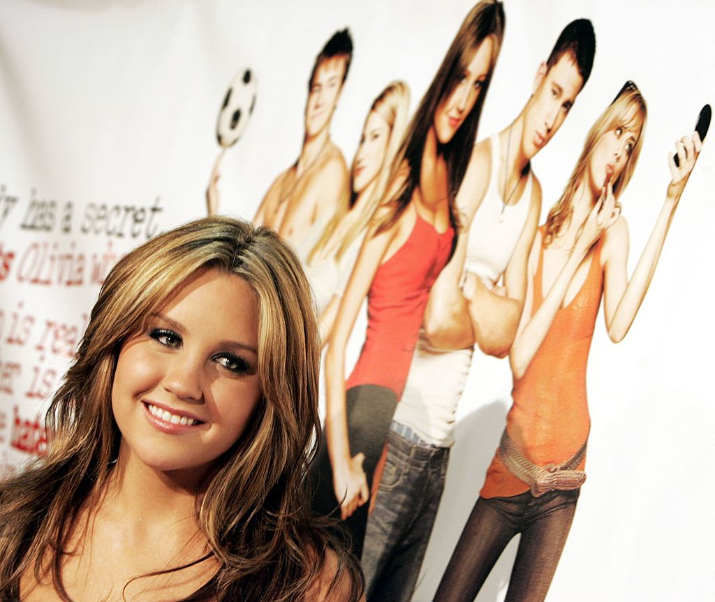 Amanda Bynes at the premiere of DreamWork's 'She's the Man' at the Village Theater on March 8, 2006.