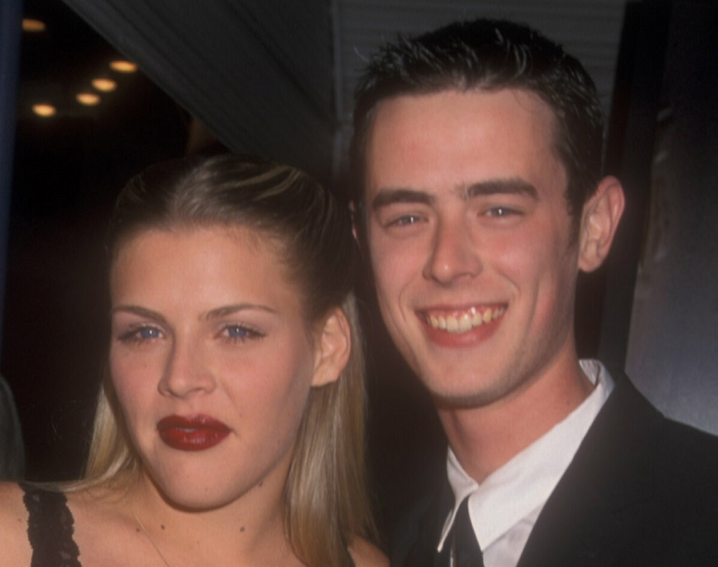 Busy Philipps and Colin Hanks and 'The Green Mile' Benefit Premiere in 1999