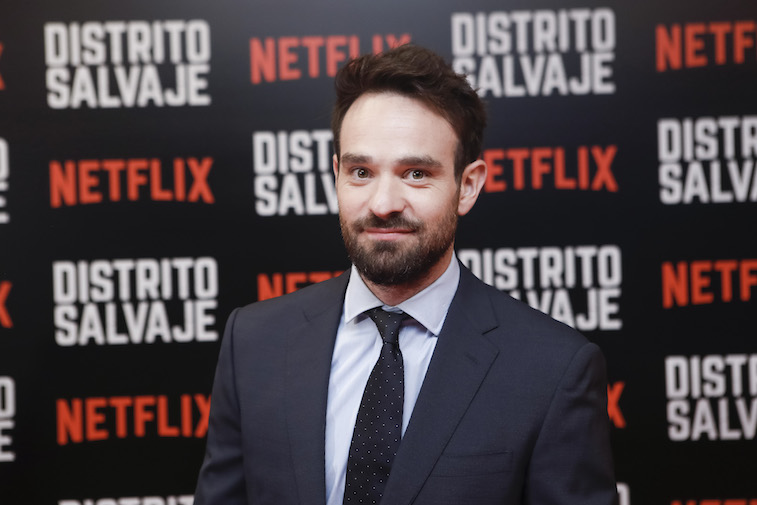 Charlie Cox on the red carpet