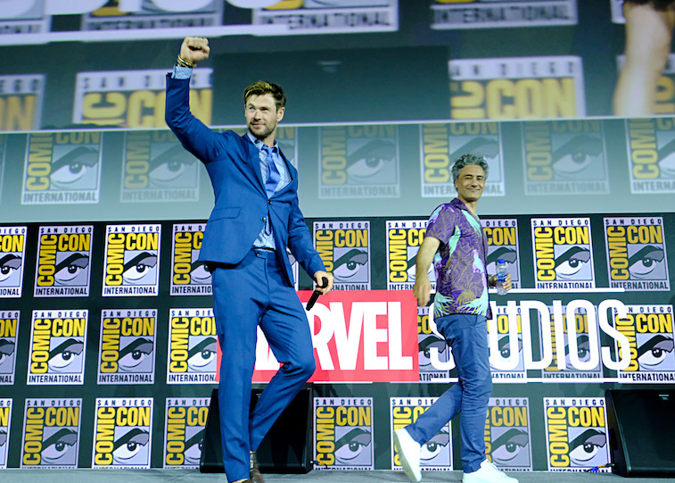 Chris Hemsworth onstage
