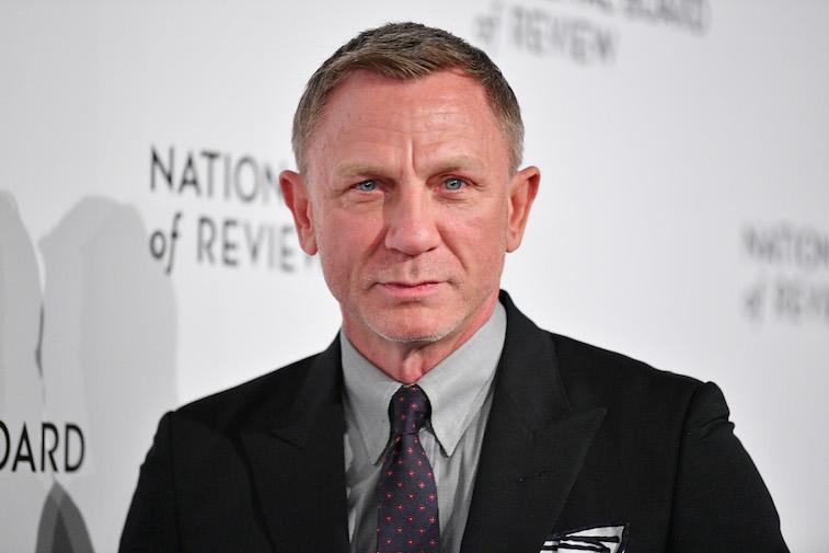 Daniel Craig on the red carpet