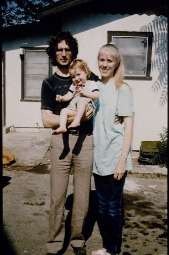 David Koresh with his wife and son