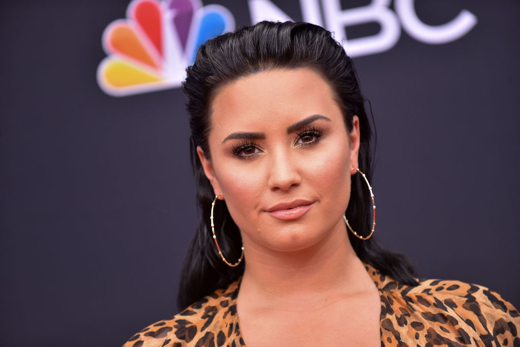 Demi Lovato attends the Billboard Music Awards on May 20, 2018