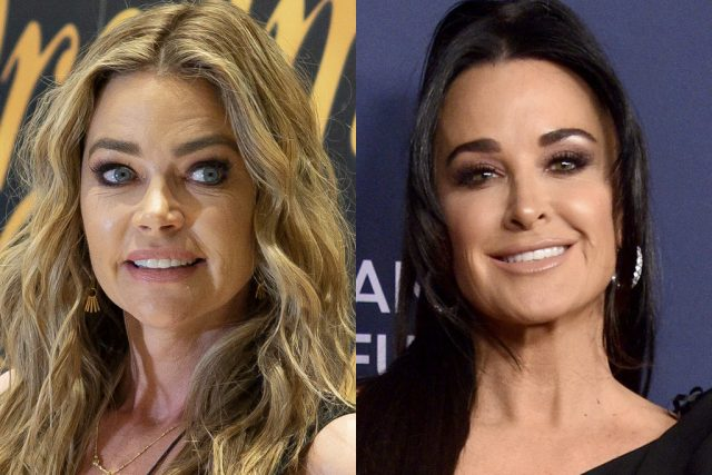 'RHOBH': Denise Richards Claps Back at Kyle Richards for Claiming She Ran Away