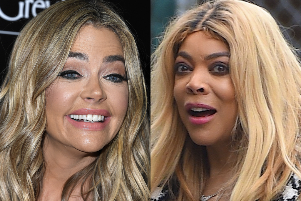 Denise Richards and Wendy Williams