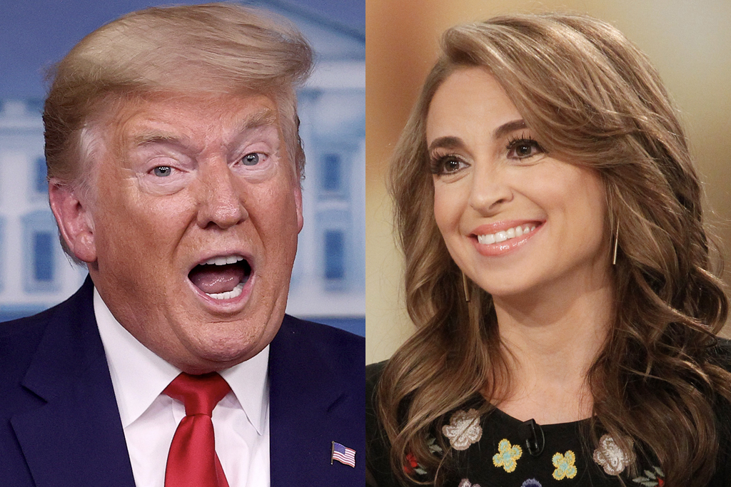 Donald Trump and Jedediah BIla