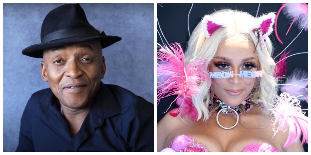 Doja Cat's father Dumisani Dlamini and Doja Cat