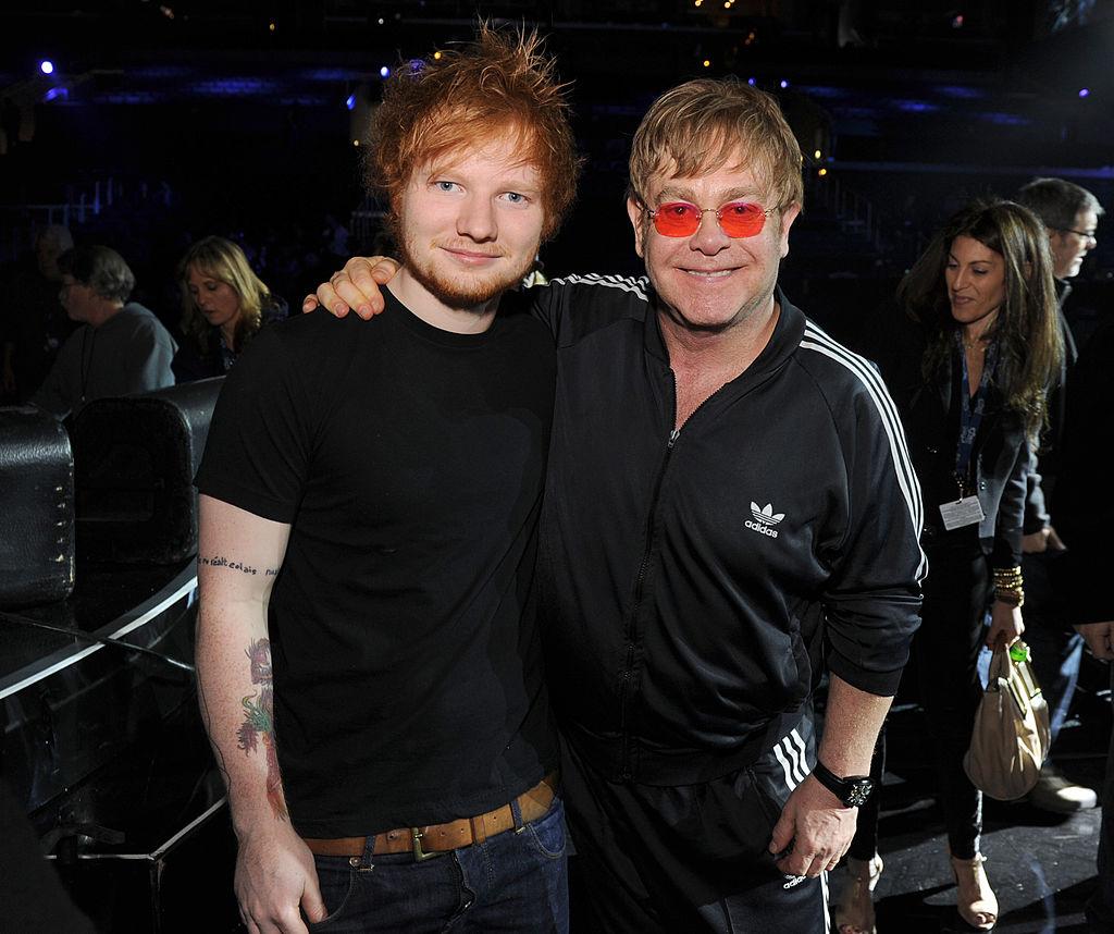 Ed Sheeran and Elton John