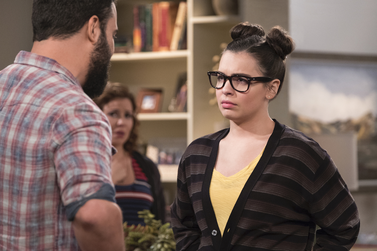 Elena (Isabella Gomez) confronts her dad who didn't accept her sexuality on 'One Day At A Time.'