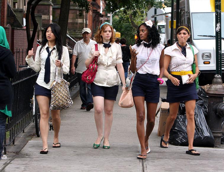 The cast of 'Gossip Girl'
