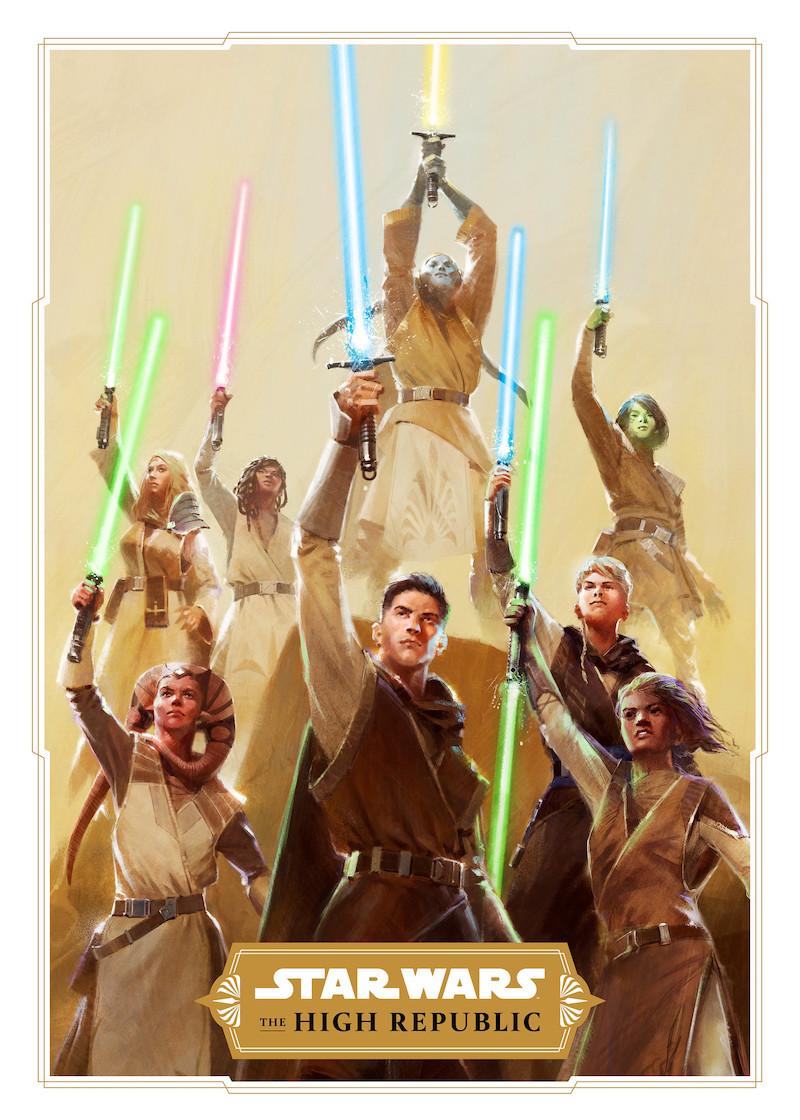 Star Wars: The High Republic Jedi Concept Art.
