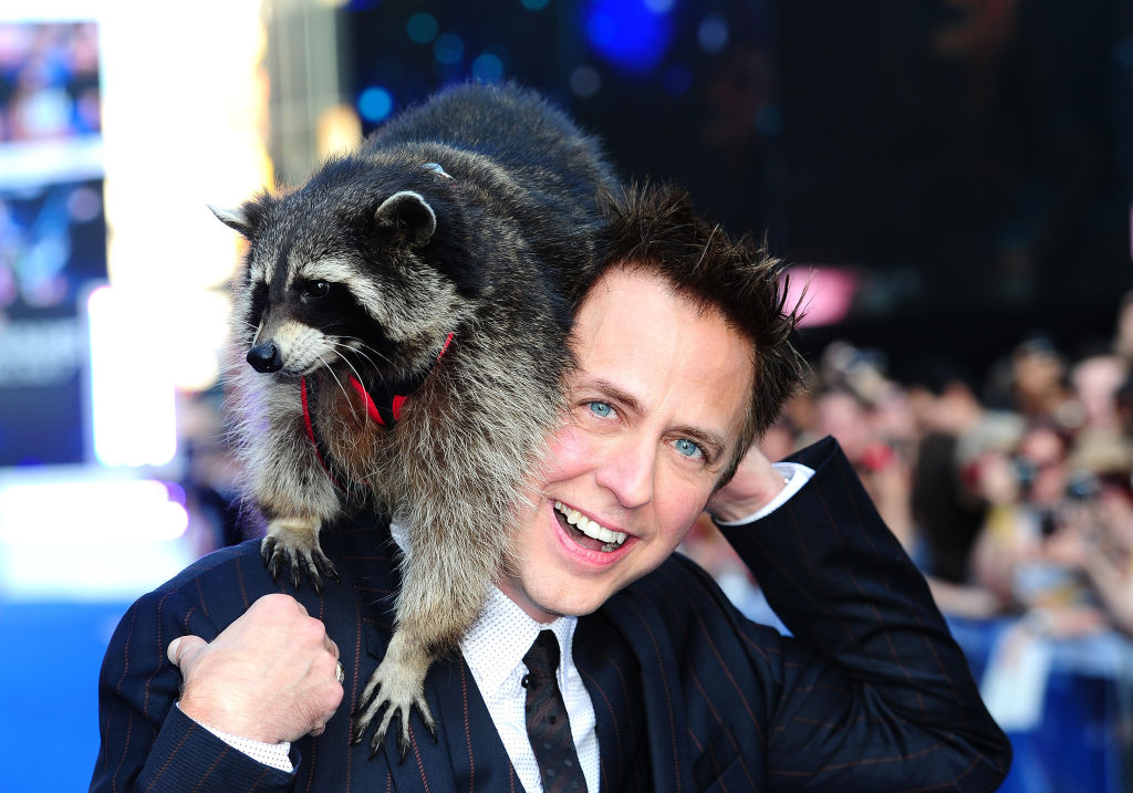 James Gunn attending the premiere of 'Guardians Of The Galaxy' in London.