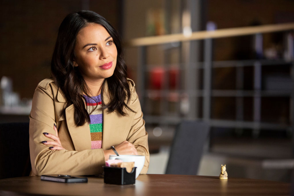 Janel Parrish as Mona Vanderwaal in 'Pretty Little Liars: The Perfectionists'