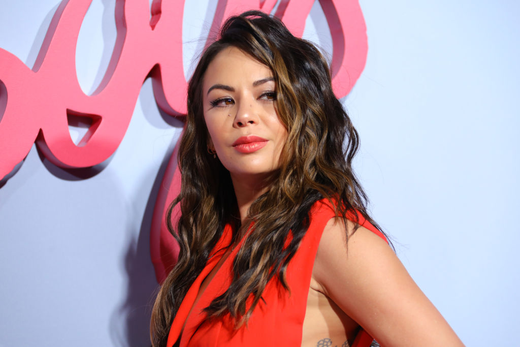 Janel Parrish attends the premiere of Netflix's 'To All The Boys: P.S. I Still Love You' on February 03, 2020