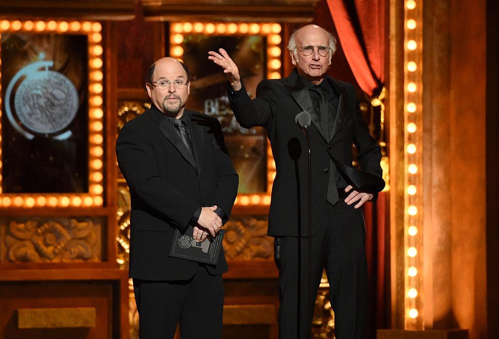 Jason Alexander and Larry David of Seinfeld