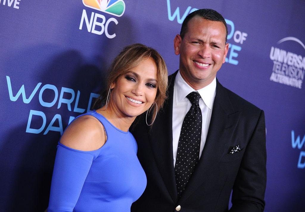 Jennifer Lopez and Alex Rodriguez attend NBC's 'World of Dance' celebration on September 19, 2017