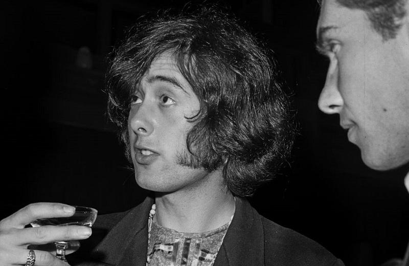 Jimmy Page on Yardbirds tour, 1966